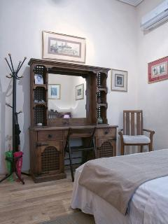 Another view of the first bedroom in the main floor