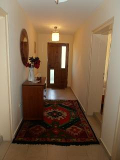 First floor hall, twin room and two double rooms off.
