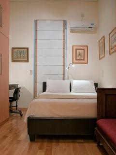 The second bedroom in the main floor