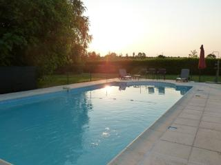 The swimming pool at dawn