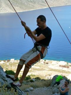 Kalymnos is World famous for Rock Climbing