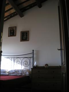 View of rear bedroom with double bed