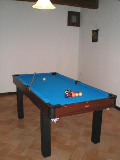 Perhaps a game of pool
