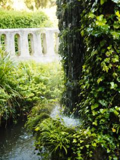 La Fontaine au milieu du Parc