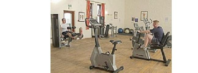 Gym area with no extra charge for guests