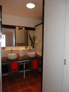 La salle de bain - Studio en rez de jardin