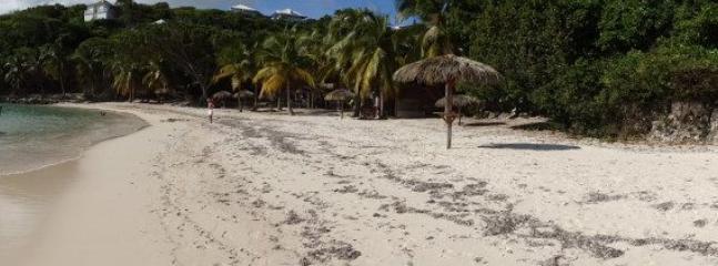 La plage de la résidence