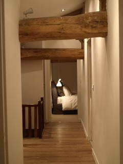 Beautiful original oak beams throughout