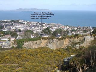 4 bed House in Dalkey, Co Dublin with sea views