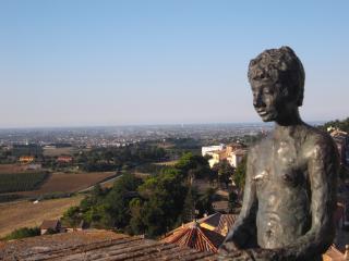 vista dal Castello Malatestiano