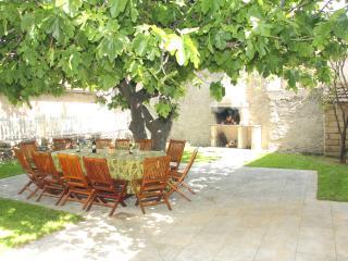 Sheltered inner courtyard