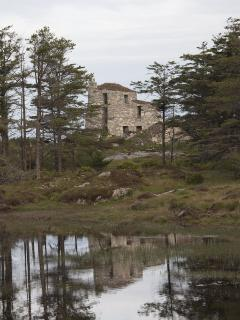 The Broch, as seen from Loch Borve