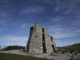 The Broch is modelled off an iron-age fortress, and its location offers real privacy