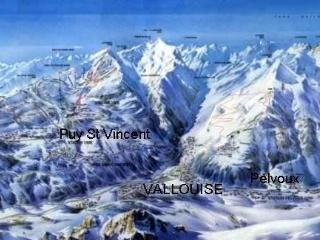 location 4 à 6  personnes a VALLOUISE massif des ECRINS, Vallouise