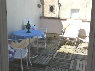 Space to eat or just relax on the sun terrace