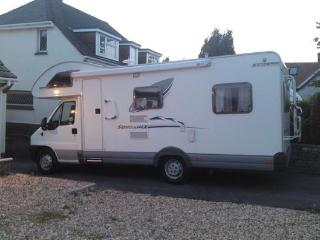 6 Berth Motorhome Hire