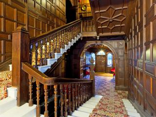 Staircase to the apartment.