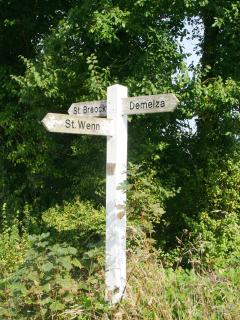 One of the signposts
