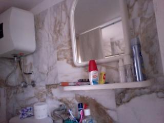 un angolo del bagno