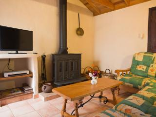 Enjoy the living room with a confortable fireplace just for you