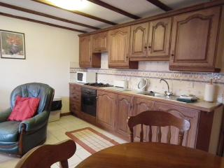 Saddlers Cottage has a well equipped kitchen area.