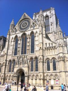 York minster in summer