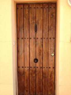 The private entrance to house