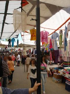 Marketplace on Saturdays (150 ft from house)