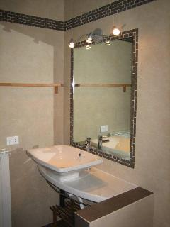 Modern, italian design bathroom