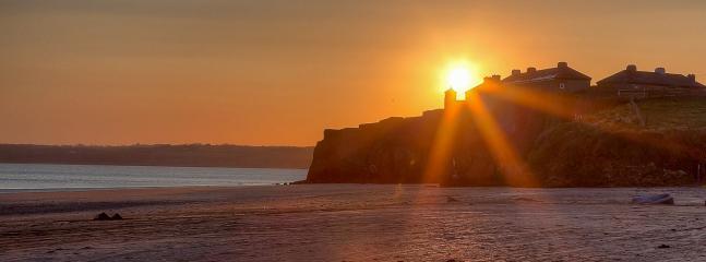 Sunset on Duncannon Fort