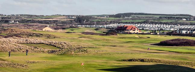 View from Living Room / Balcony overlooking Royal Portrush Golf Course