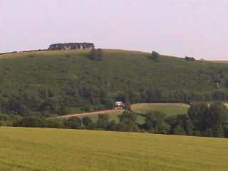 the house fro across the valley