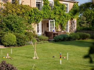 Croquet in the Walled Garden