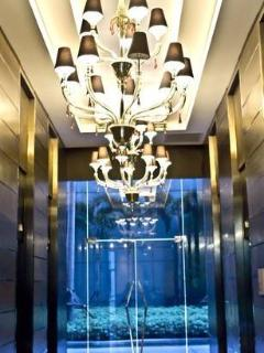 8 high speed elevators