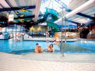 Trecco Bay indoor heated swimming pool - just a few minutes walk away from the house