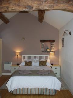 The relaxing bedroom