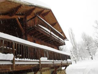 grand balcon filant et terrasse