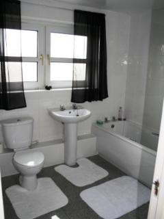 The family bathroom (there is an additional shower room too)
