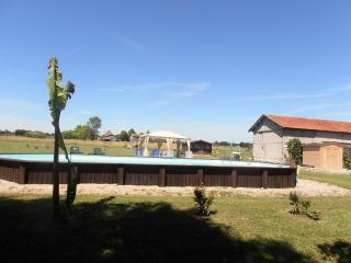 Maison loft avec piscine, Issigeac