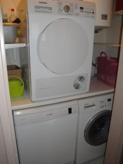 dish washer, washing machine and clothes dryer