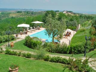 Swimming pool and surrounding gardens