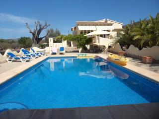 LUXURY VILLA  LLIBER  NR  JALON VALEY  A/C  WI FI