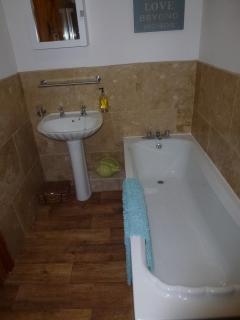 The bath ....