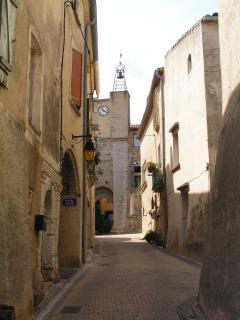 Une ruelle du vieux village