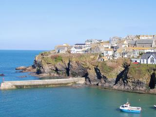 Port Isaac Harbour, a short walk from Bark House