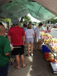 Farmers Market - close to the house