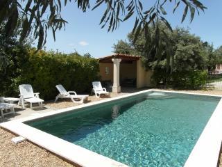 L'Oustau des oliviers, Mas provencal, piscine, vue