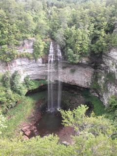 Picture of Fall Creek Falls as taken by Kelly Cooley, one of my previous guests :-)))