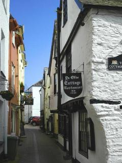 Part of the old quarter, East Looe