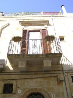 Nel Sole apartment, balcony